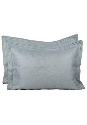 Kit-de-Colcha-Queen-com-Porta-Travesseiros-Inter-Home-Verde