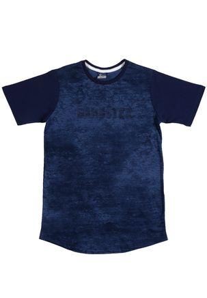 Camiseta-Manga-Curta-Gangster-Juvenil-Para-Menino-
