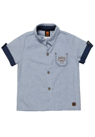 Camisa-Infantil-Para-Menino---Azul