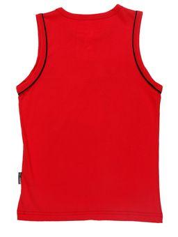Camiseta-Regata-Juvenil-Para-Menino---Vermelho