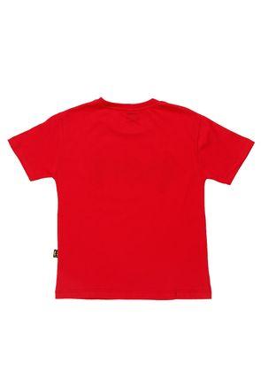 Camiseta-Manga-Curta-Batman-Infantil-Para-Menino---Vermelho