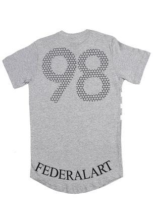 Camiseta-Manga-Curta-Federal-Art-Juvenil-Para-Menino---Cinza