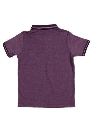 Camisa-Polo-Juvenil-Para-Menino---Roxo