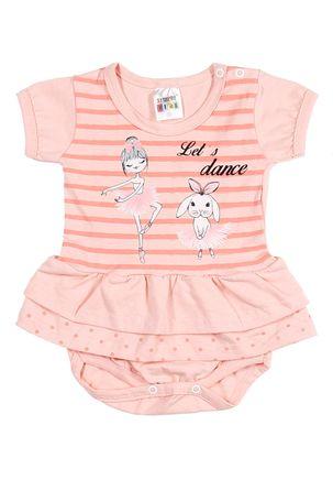 Vestido-Infantil-Para-Bebe-Menina---Coral