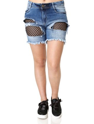 Short-Jeans-Feminino-Sawary-Azul