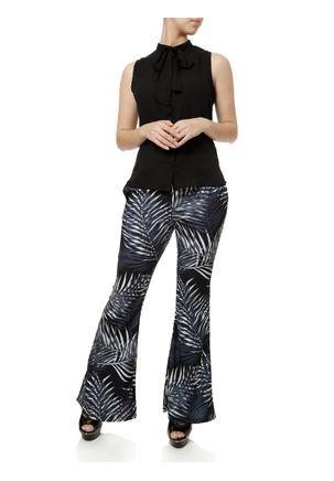 Camisa-Manga-Curta-Feminina-Autentique-Preto