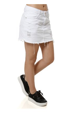 Saia-Curta-Feminina-Branco