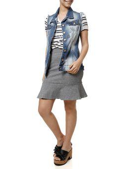 Blusa-Manga-Curta-Feminina-Branco-azul-
