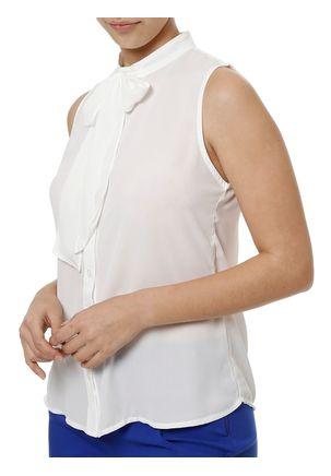 Camisa-Manga-Curta-Feminina-Autentique-Branco