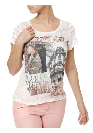 Blusa-Manga-Curta-Feminina-Autentique-Off-white-rosa