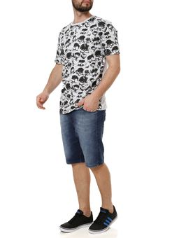 Camiseta-Manga-Curta-Masculina-Local-Cinza-claro