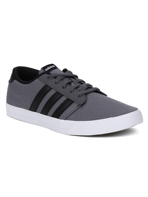 7e9ee58223c Tênis Masculino Adidas VS Skate Cinza preto - Lojas Pompeia