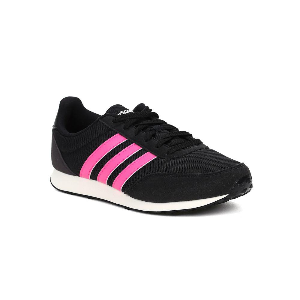 Tênis Esportivo Feminino Adidas Racer 2 W Preto rosa - Lojas Pompeia 3835d0b1c47d6