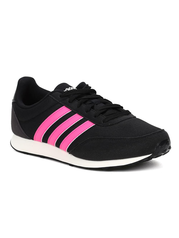 adidas preto com rosa