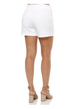 Short-de-Tecido-Feminino-Branco-
