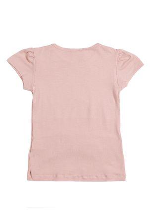 Blusa-Manga-Curta-Infantil-Para-Menina---Rosa