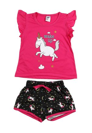 Pijama-Pijama-Curto-Infantil-Juvenil-para-menina-