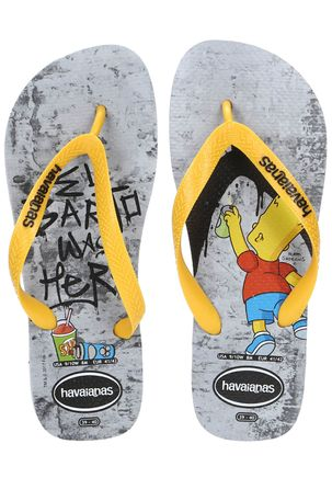 Chinelo-Masculino-Havaianas-Simpsons-Cinza-amarelo