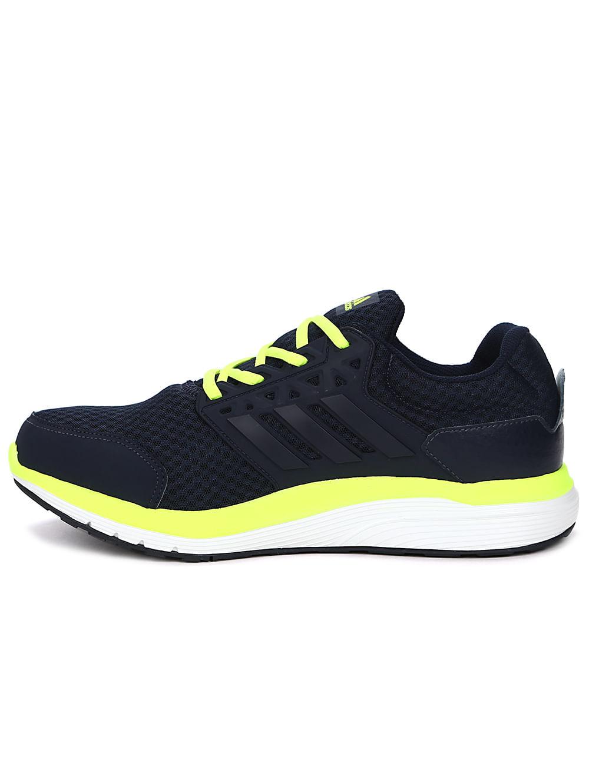 af0730b3b3f Tênis Esportivo Masculino Adidas Galaxy 3.1 M Azul marinho amarelo ...