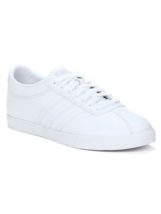 bfc0e7614 Tênis Casual Feminino Adidas Courtset W Branco - Lojas Pompeia