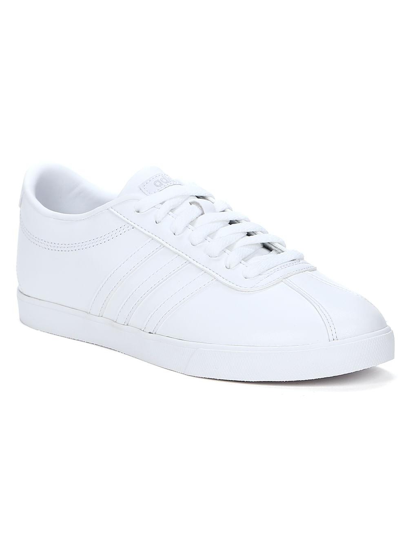 b446567263 Tênis Casual Feminino Adidas Courtset W Branco - Lojas Pompeia