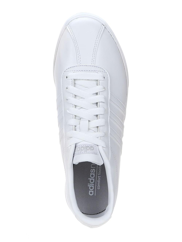 8b933f6e4 Tênis Casual Feminino Adidas Courtset W Branco - Lojas Pompeia