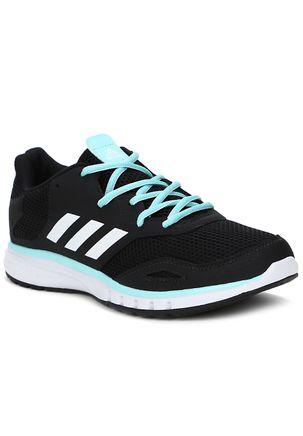 Tênis Esportivo Feminino Adidas Protostar W Preto azul 562fee6507f96