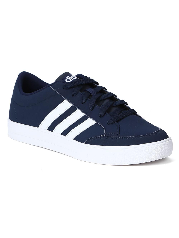 582d9b01aad Tênis Casual Masculino Adidas Vs Set Azul branco - Lojas Pompeia