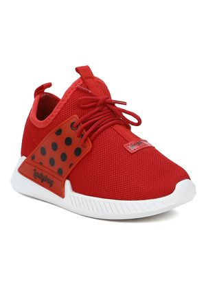 Tenis-Ladybug-Vr-Mania-Infantil-Para-Menina---Branco-vermelho
