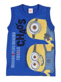 Camiseta-Regata-Minions-Infantil-Para-Menino