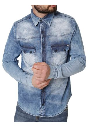 Camisa-Jeans-Manga-Longa-Masculino-Bivik-Azul