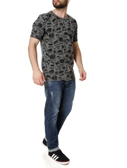 Camiseta-Manga-Curta-Masculina-Local-Cinza