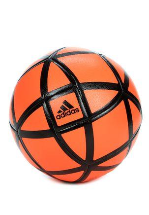 Bola-de-Futebol-Adidas-Glider-Preto-laranja