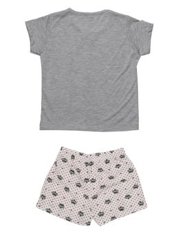 Pijama-Curto-Infantil-Para-Menina