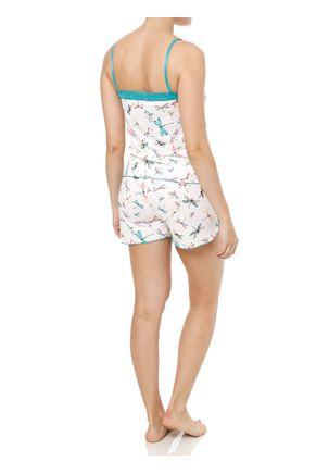 Pijama-Curto-Feminino-Verde-