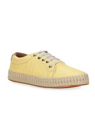 Tenis-Casual-Feminino-Autentique-Amarelo