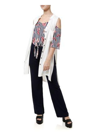 Blusa-Manga-Curta-Feminina-Azul-marinho-vermelho