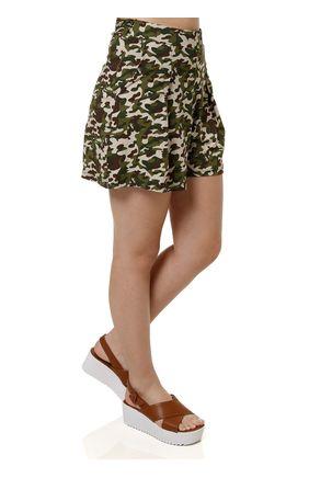 Short-de-Tecido-Feminino-Verde