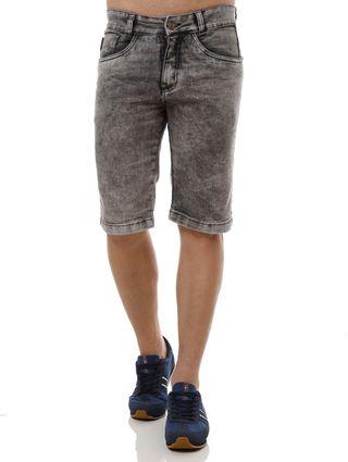 Bermuda-Jeans-Masculina-Eletron-Preto