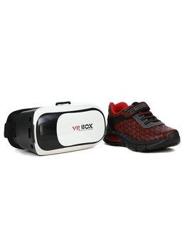 Tenis-Brink-Glass-3D-Infantil-para-Menino---Preto-vermelho