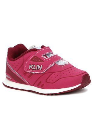 Tenis-Klin-Infantil-Bebe-Para-Menina---Rosa