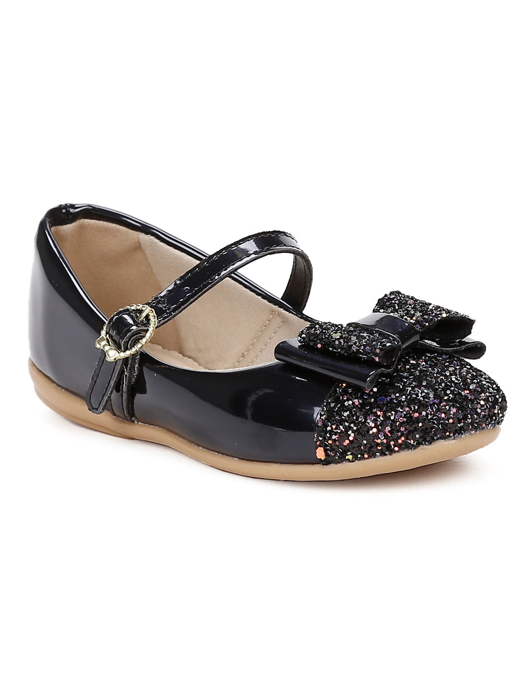 ba48385493ddc Sapato Para Bebê Menina - Preto - Lojas Pompeia