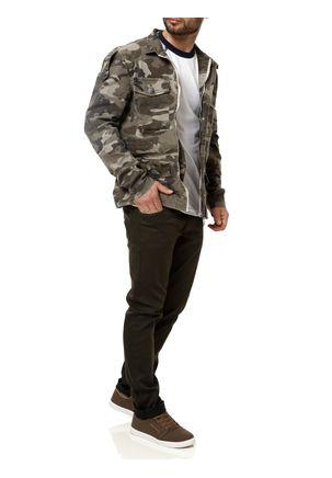 Jaqueta-Jeans-Camuflada-Masculina-Verde