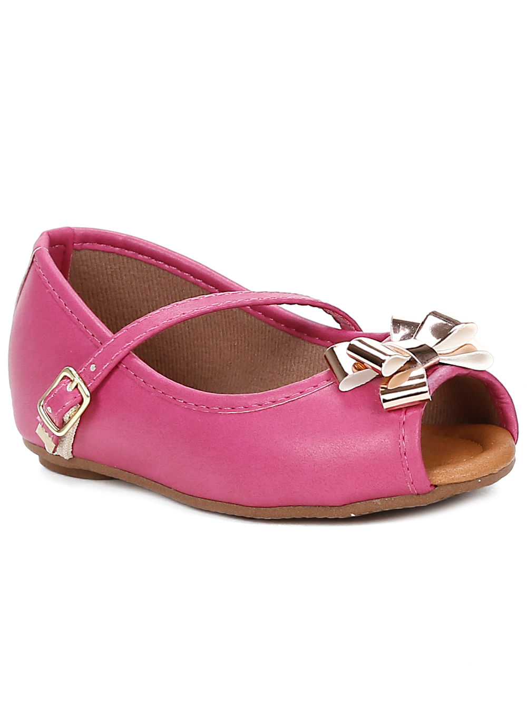 61c7083adf Sapato para Bebe Menina - Rosa pink - Lojas Pompeia