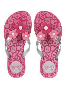 Chinelo-Barbie-Infantil-Para-Menina---Rosa-cinza