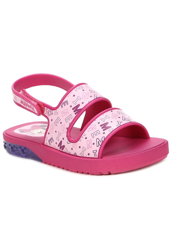bb62d29833 Sandália Mickey e Minnie Infantil Para Bebê Menina - Rosa pink ...