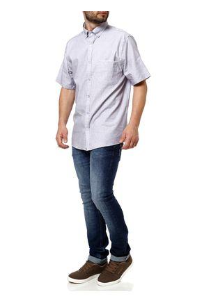 Camisa-Manga-Curta-Masculina-Lilas