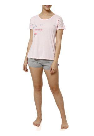 Pijama-Curto-Feminino-Rosa