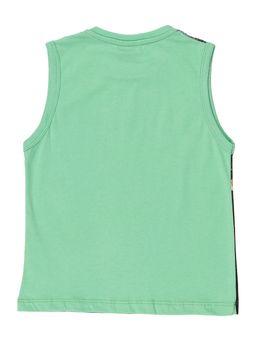Camiseta-Regata-Infantil-Para-Menino---Verde