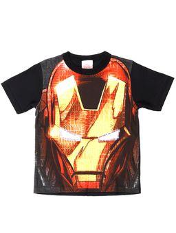 Camiseta-Manga-Curta-Avengers-Infantil-Para-Menino